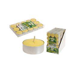 FS STAR Teelichter 15 Stk Zitronella