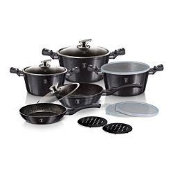 Berlinger Haus Set de cuisine Metallic Line Carbon Pro Edition, 13 pièces