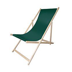 FS-STAR Holzliegestuhl dunkelgrün