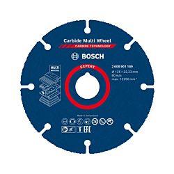 Bosch Disques à tronçonner Carbide Multi Wheel 125 mm 22 23mm