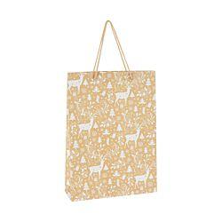 FS-STAR Geschenkstasche 4 verschiedene Motive Gold