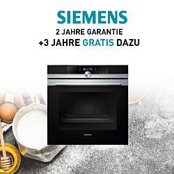 3 Jahre gratis Garantieverlängerung Einbaubackofen mit dem Code SiemensSuperdeal2021