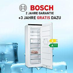 3 Jahre gratis Garantieverlängerung Gefrierschrank mit dem Code BoschSuperdeal2021