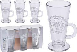 FS-STAR Latte Macchiato Gläser 3er Set