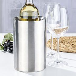 FS-STAR Weinkühler aus Edelstahl, doppelwandig