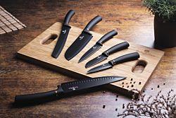 Berlinger Haus Set de couteaux 6 pièces Black Rose Collection