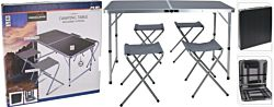 FS-STAR Set table de camping pliable