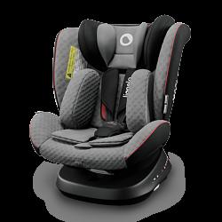 Lionelo Babyautositz Bastiaan Grey stone black