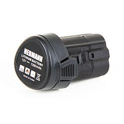 Hermann Batterie de remplacement 12V 1.3Ah