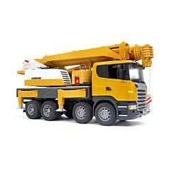 Bruder Spielwaren Lastwagen Scania Liebherr Kran-LKW R-Serie
