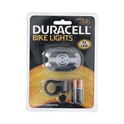 Duracell Lampe de vélo avant 5 avec LED