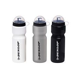 Dunlop Fahrradflasche inkl. Halterung, 750ml