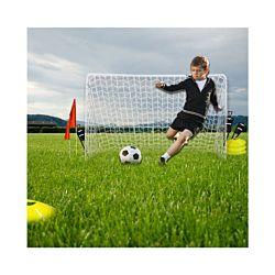 FS-STAR Fussballtor inkl. Trainingszubehör