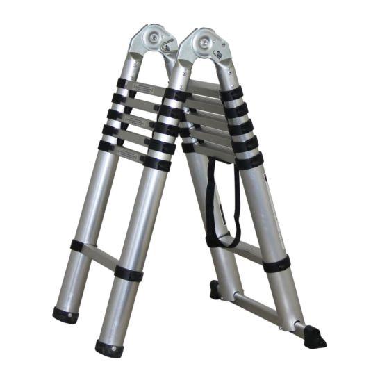 Holmberg Teleskopleiter, Bock- und Anlegeleiter 190 cm / 380 cm