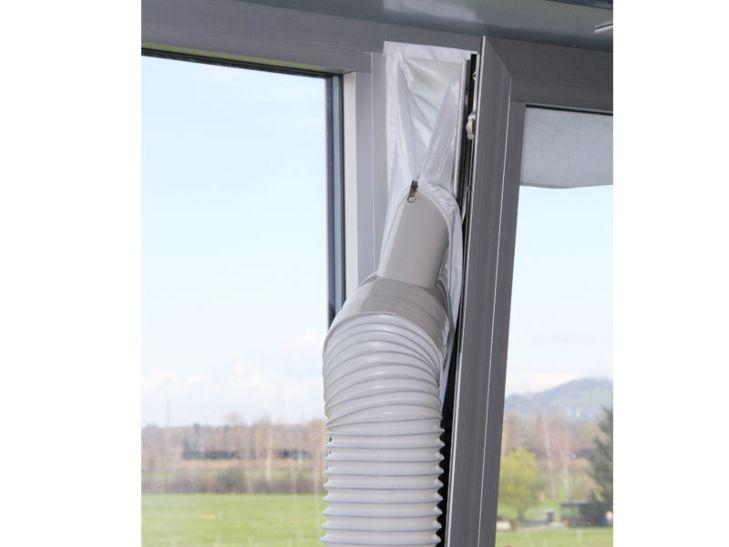 Kibernetik Joint de fenêtre pour climatiseurs mobile