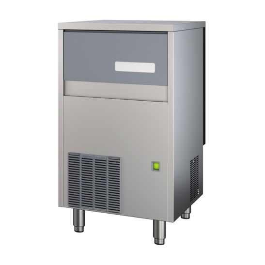 Kibernetik Profi-Eiswürfelmaschine 46kg/Tag, 25kg Speicher Vollwürfel