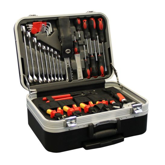 Kibernetik Coffre d'outils mobile 136 pièces