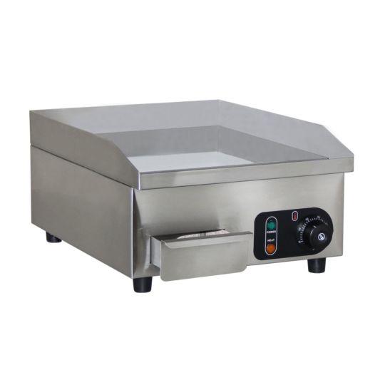 Weber Home Elektro Plattengrill 2'100 Watt, Chromstahl
