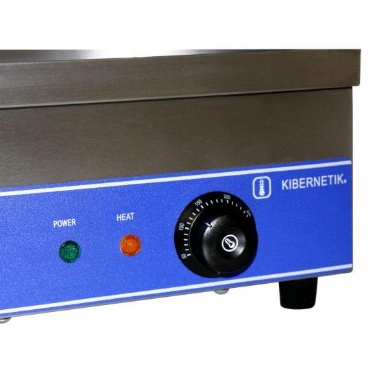 Weber Home Plancha électrique 3'000 Watt, acier chromé