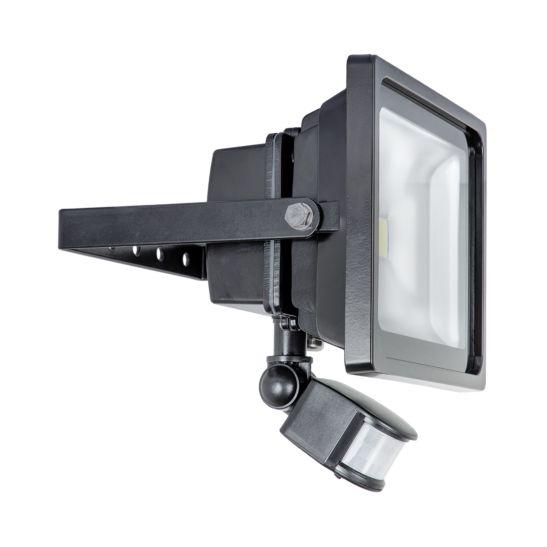 Kibernetik Projecteur LED 30 Watt, pour installation murale, avec détecteur de mouvement
