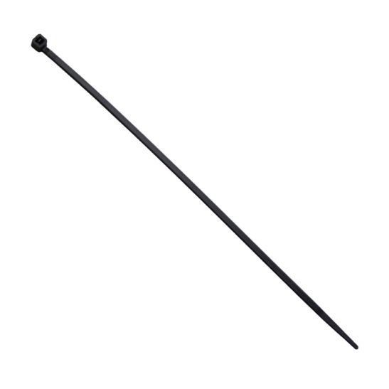 Kibernetik Kabelbinder 365 x 7.6 mm, schwarz, 100 Stück