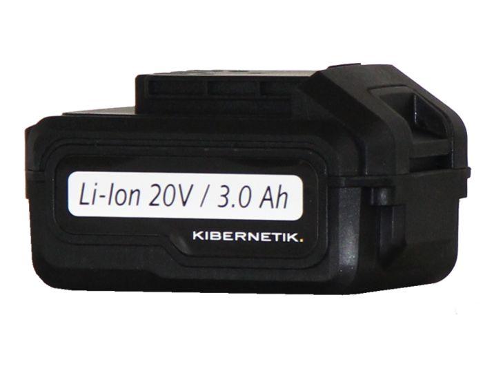 Kibernetik Accu 20V pour Perceuse-visseuse snas fil Li-Ion 20 V / 3.0 Ah
