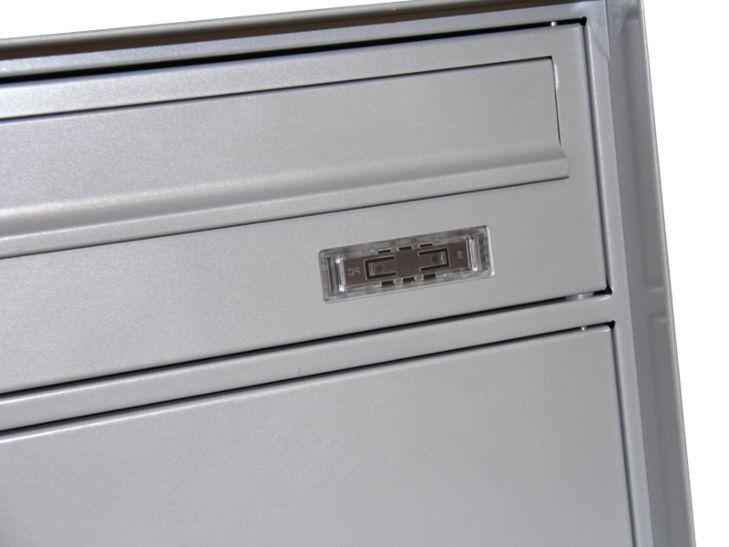 Holmberg Briefkasten Swiss Norm, Metall