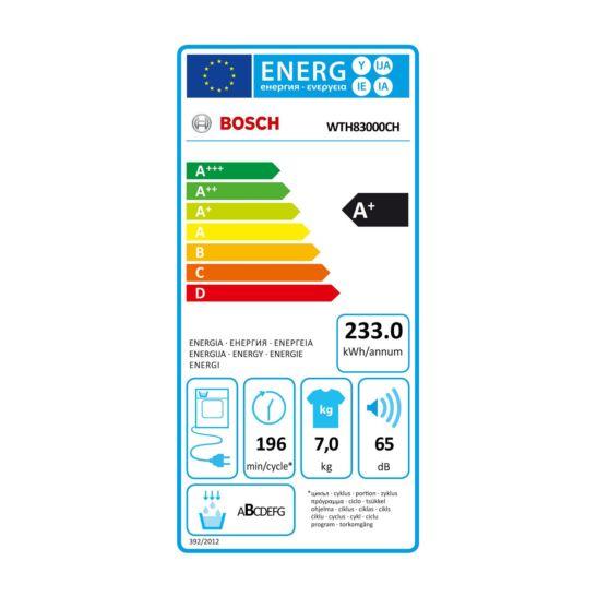 Bosch Sèche-linge WTH83002CH 7 kg A+