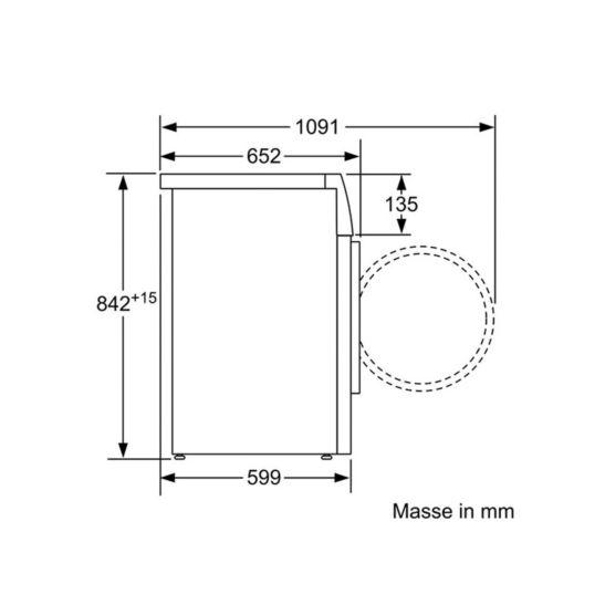 Bosch Sèche-linge WTW85462CH 8 kg A++