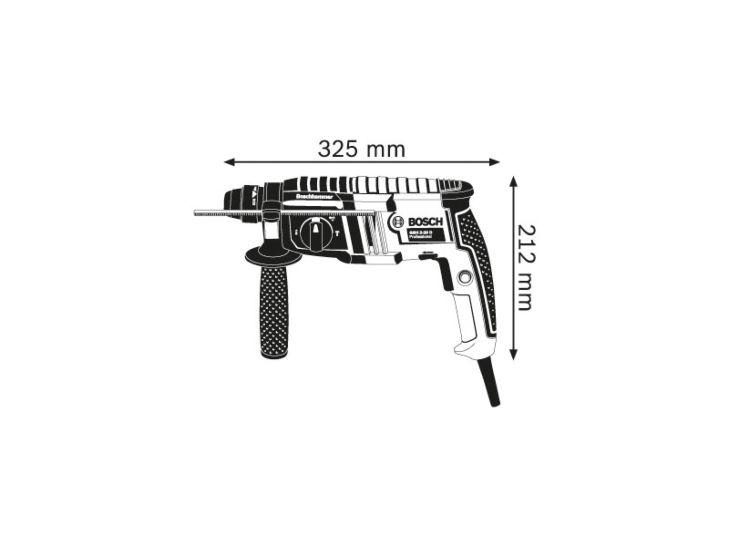 Bosch Bohrhammer GBH 2-20 D CH, inkl. Koffer