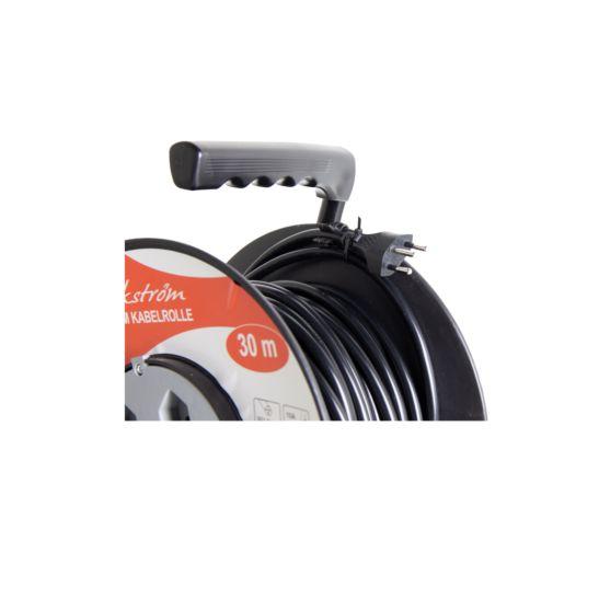 Ekström Enrouleur de câble 30 mètres, 3x 1.5 mm², 4x T13
