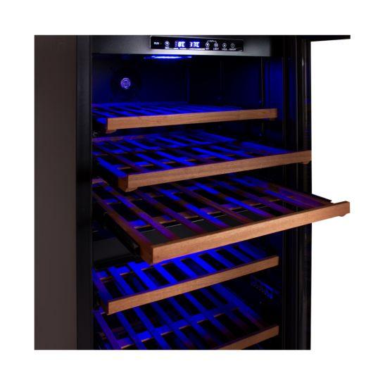 Coldtec Cave à vin climatique 100 bouteilles 2 zones