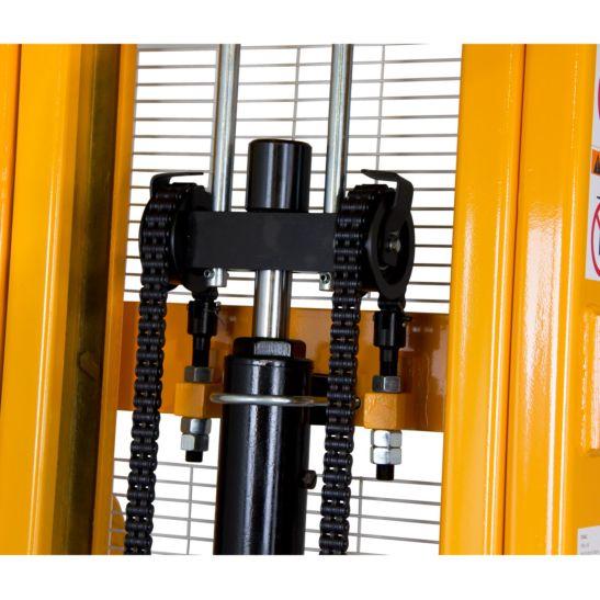 Ekström Transpalette hydraulique manuel 1 tonne, hauteur de levage 2.5 mètres