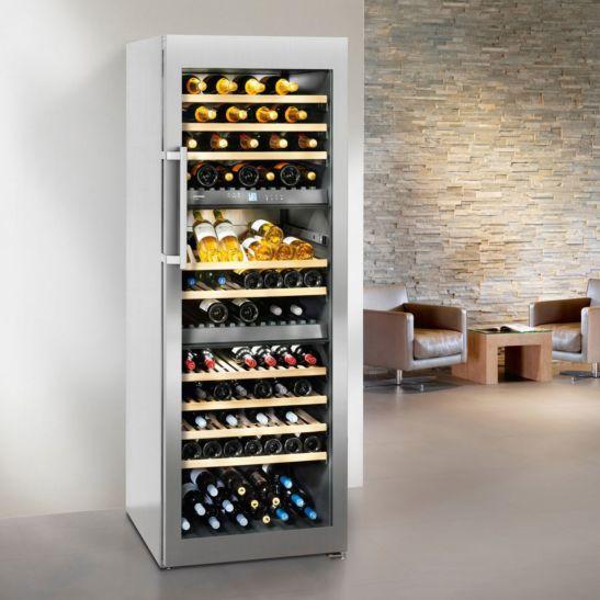 Liebherr Weinklimaschrank WTes 5872-21 Vinidor 178 Flaschen 3 Zonen