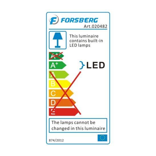 Forsberg LED Akku Baustrahler 30 Watt 2-stufig