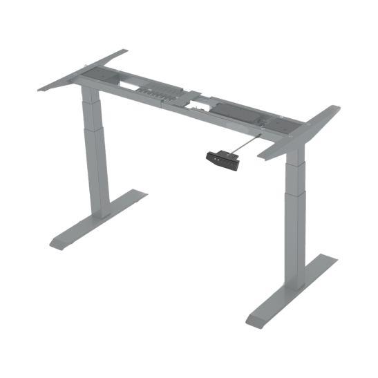 CONTINI Châssis pour table de bureau électrique 1100 - 1800mm gris foncé
