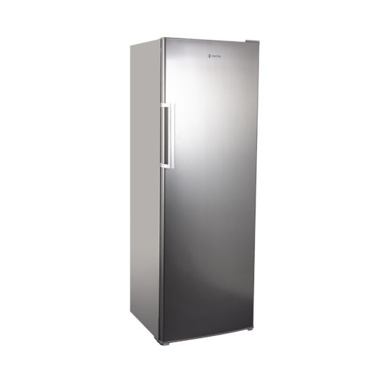 Coldtec Réfrigérateur 335 litres acier chromé