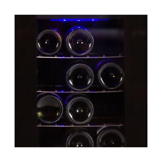 Coldtec Cave à vin frigorifique 21 bouteilles 2 zones