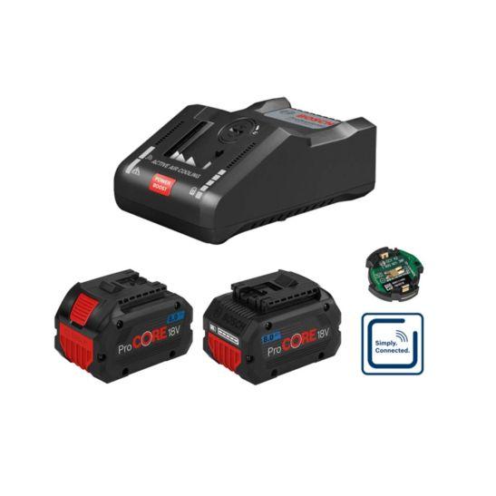Bosch Set de base de batterie ProCORE 18 V 8.0 Ah, incl. chargeur GAL 1880CV