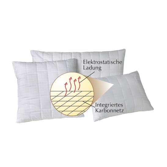Dorbena Kissen variabel 50 x 70 cm, mit Polyesterfaser-Bällchen 550 gr