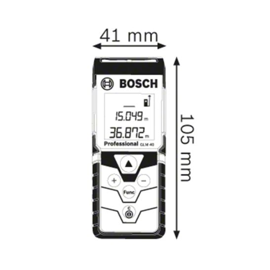 Bosch Laser-Entfernungsmesser Professional GLM 40