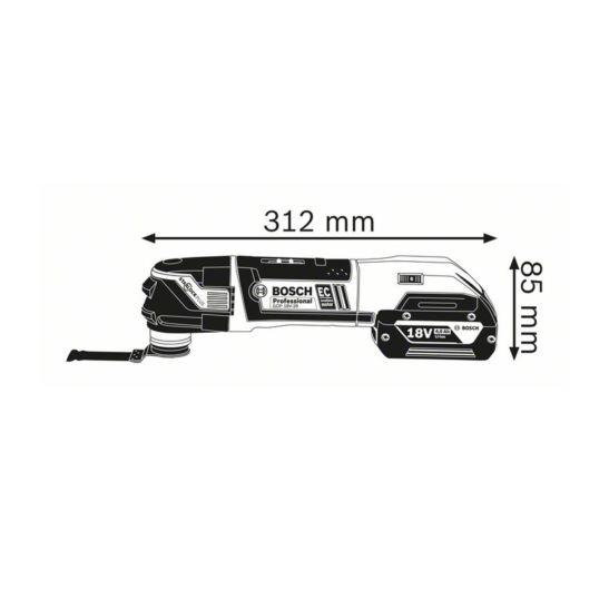 Bosch Multi coupeur sans fil GOP 18V-28 Professional, sans batterie et chargeur