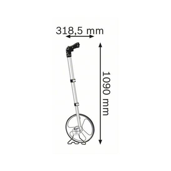 Bosch GWM 32 Messrad