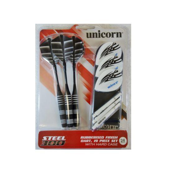 Unicorn Dartpfeile Steeltip S300, 3 Stück