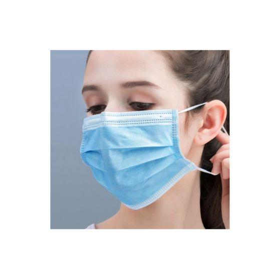50 Stück Einweg Mundschutzmasken 3-lagig, verpackt im Karton