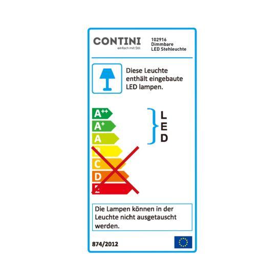 Contini Dimmbare LED Büro-Leuchte mit Tischklemme