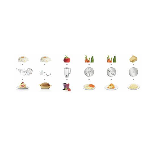 Bosch MUM58920 Küchenmaschine beige (Pastellgelb)