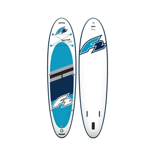 F2 Stand Up Paddle 350 x 85 x 15 cm iSup Sector Set + Sitz + Paddle