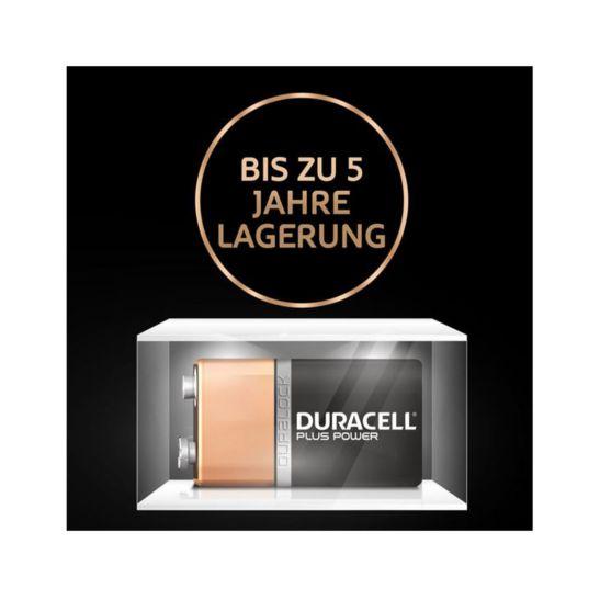 Duracell Batterien Plus 9V / 6LF22
