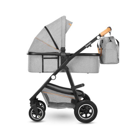Lionelo Riya 3in1 Kinderwagen Grey Stone